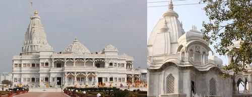 Vrindavans Tempel – die Alten für Gebete, die Neuen für den Tourismus – 4 Jul 12