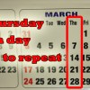 Superstition tells you not to visit ill or injured Friends on Thursdays - 7 Mar 13