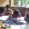 Apra getting used to School Routine - 14 Sep 16