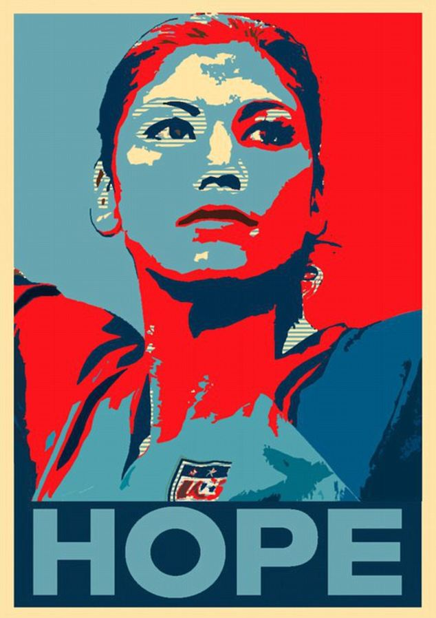 #USWNT Legend Hope Solo