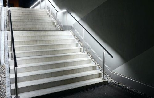 Led Handrails – Balcony And Terrace Railings Balfix   Lighted Handrails For Stairs   Wrought Iron Railing   Minimal   Antique   Basement   Stair Banister
