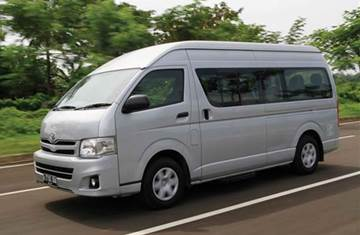 Bali Car Carter With Driver - Hiace