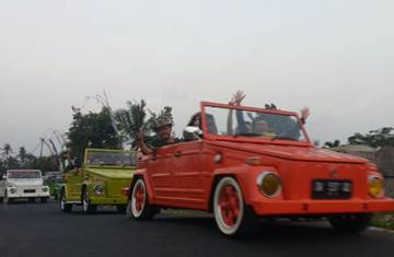 Bali Car Carter With Driver - VW Safari
