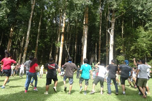 Bali Corporate Team Building Activities Ubud Camp
