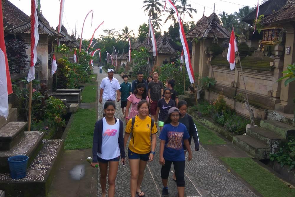 Bali Students Team Building Activities Penglipuran Camp - Gallery 01290117