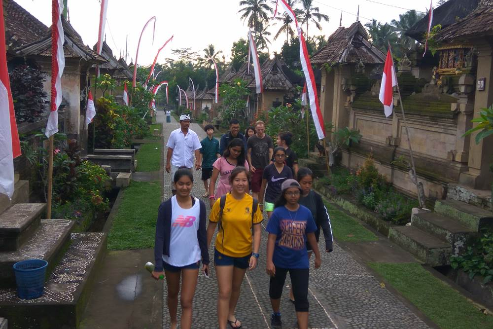Bali Students Team Building Activities Penglipuran Camp - Gallery 01290117