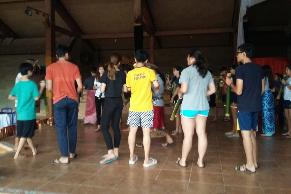Bali Students Team Building Activities Ubud Camp - Galerry 01270117
