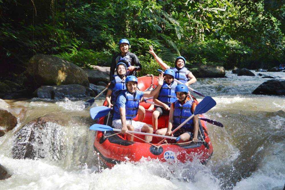 Bali White Water Rafting Tours Ayung River - Gallery 02010217