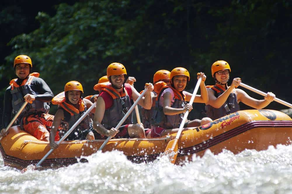 Bali White Water Rafting Tours Ayung River - Gallery 090102174