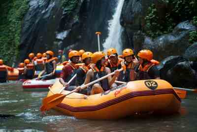 Bali White Water Rafting Tours Ayung River - Gallery 090102175