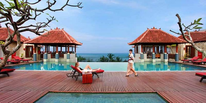 The Pool With A View Of Kuta Beach Picture Mercure Bali