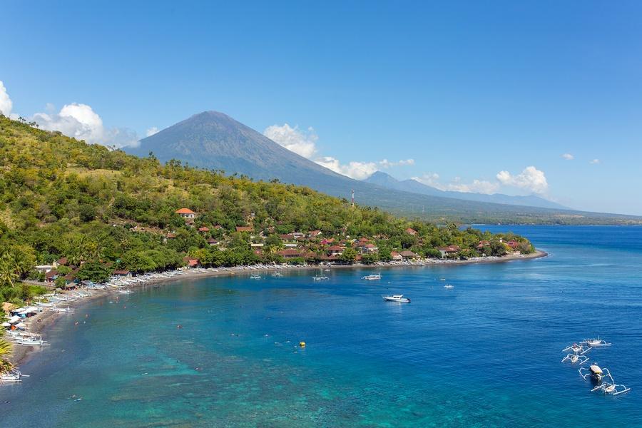Le spiagge a Est di Bali