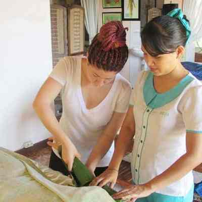 4-Day Balinese Spa Treatments course includes Balinese Massage, Lulur Body Scrub, Traditional Facial and Hair Creambath