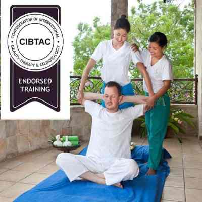 The CIBTAC Thai program endorsed by CIBTAC at the Bali International Spa Academy (BISA) covers Thai Massage with herbal packs and Thai Foot Stick Massage.