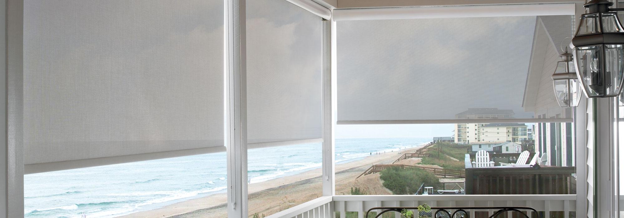 outdoor solar shades window shades