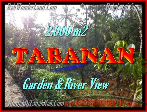 Land in Bali for sale, fantastic view in Tabanan Bali – TJTB149