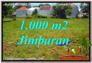 1,000 m2 LAND IN Jimbaran Ungasan FOR SALE TJJI108