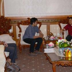 I Wayan Balawan usai audensi dengan Walikota Denpasar IB Rai Dharmawijaya Mantra di Kantor Walikota Denpasar Rabu (14/9).