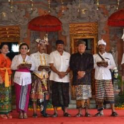 Sekda Rai Iswara Buka Lomba Simulasi Taman Gegirangan Pelestarian Budaya Kota Denpasar