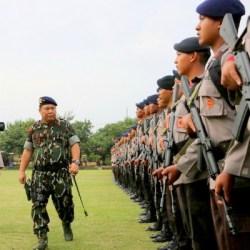Ribuan Personel Amankan Liburan Raja Arab di Bali
