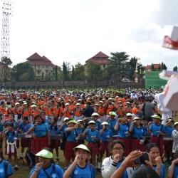 Diikuti 3.059 Peserta, Program Senyum Anak Indonesia Pecahkan Rekor Muri