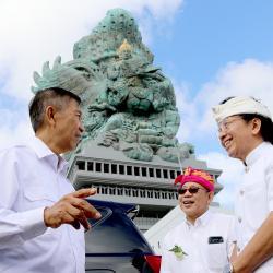 """Patung GWK di """"Pelaspas"""", Diharapkan Dapat Memajukan Pariwisata Bali"""