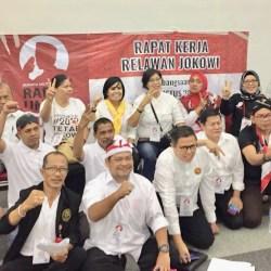Tunjukkan Militansi, JPKP Bali Hadiri RURJ Bogor dan Deklarasi Relawan Jokowi di Bali