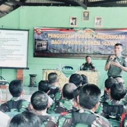Tingkatkan SDM Kodim Bangli, Kapenrem Bekali Penguatan Fungsi Penerangan