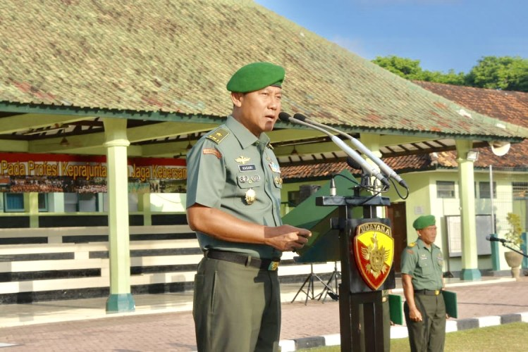 "Kasdam IX/Udayana Sampaikan Seruan Menpora, ""Wahai Pemuda Indonesia Dunia Menunggumu"""