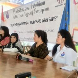 Tini Gorda: Parpol Jangan Hanya Gandeng Perempuan Saat Pemilu