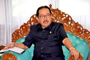 Cok Ace Sambut Baik Pemanfaatan Lahan untuk Lembaga Pendidikan di Desa Riang Gede, Tabanan