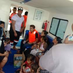 Kecelakaan di Perairan Morotai Malut, 37 Penumpang Kapal Azzara Selamat