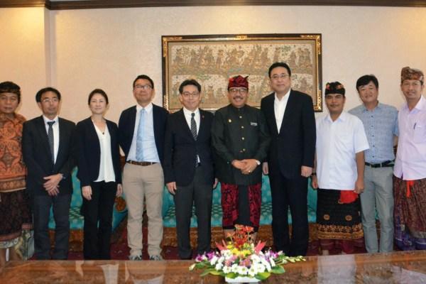 Kumamoto Ingin Lanjutkan Kerjasama dengan Pemprov Bali