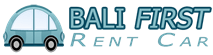 Bali First Rent Car Logo New 2015