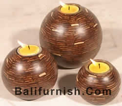 COCO SHELL LIGHT STANDS OTHER COCONUT SHELL COCONUT WOOD CRAFTS From JAVA BALI INDONESIA