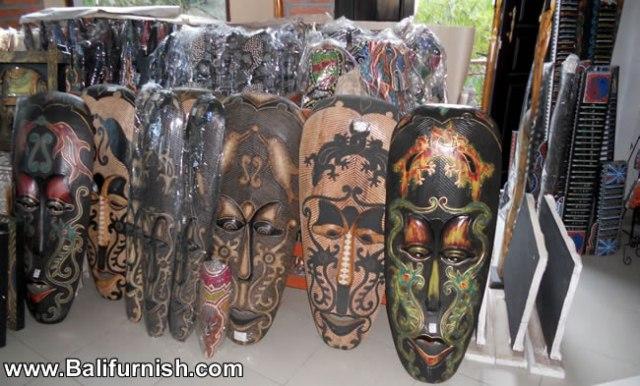 Carved Wooden Masks