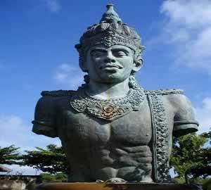 god of wisnu garuda kencana bali interest place golden tour
