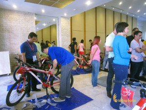 bali, csr, corporate social responsibility, activities, programs, bali csr, csr programs, csr activities, charity, bicycle construction, charity programs
