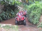 amlin singapore, amlin, atv riding, treasure hunt, team building, river treack