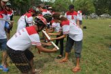 crazy ball, warisan, warisan group, bali cycling, treasure hunt rafting, rafting, cycling, team building, garden team building, fun games, games, Rice paddy cycling, wooden puzzle