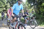 ferring, ferring pharmaceuticals, games, cycling, start, starting point, cycling rafting, treasure hunt, bali cycling, team building, activity, bali cycling rafting, bali treasure hunt