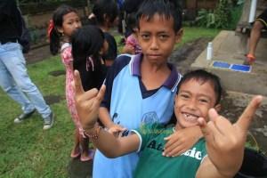 Balinese smile, Kids smile from Bali