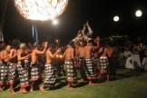 a live performance of Kecak dance