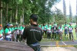 warisan group, warisan group briefing, group briefing, bali treetop adventure