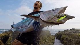 Atçekle böyle bir balık yakalamak?