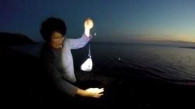 İshak Ballıca'dan kıyıdan bereketli balık avı