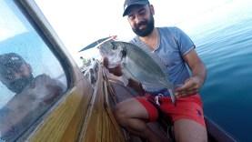 Özlemişiz Tekneden Çupra avını