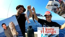Dev 1 Kuzu ve 11 Adet Fangri Yakaladık! Peki eve kaç balıkla dönebildik? :)