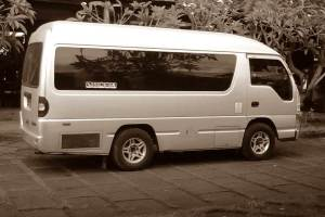 Mini Bus Car Rent at Bali Kuno 01