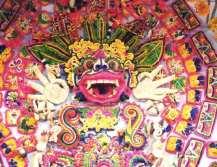 DwiBhumi-Sarad-Bali offerandes Balinese dans cultuur